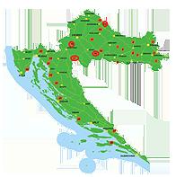 becasse - centre de croatie