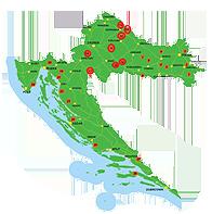 chevreuil - centre de croatie