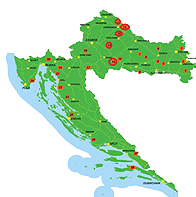 le cerf - centre de croatie